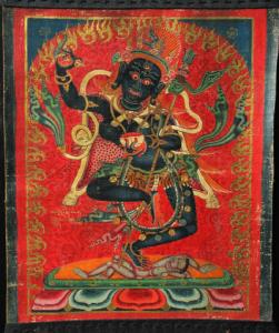 Krodha Kali (Vajrayogini) - a wrathful form of Vajravarahi