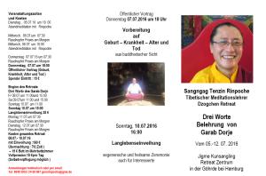 Belehrung Garb Dorja